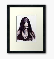 Dead-She Framed Print