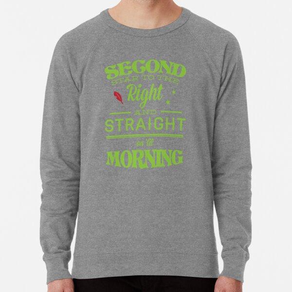 Peter Pan Neverland  - Second Star Lightweight Sweatshirt