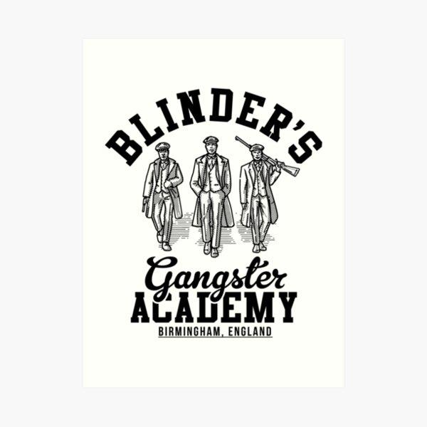 Peaky Blinders Gangster Academy Birmingham England Art Print