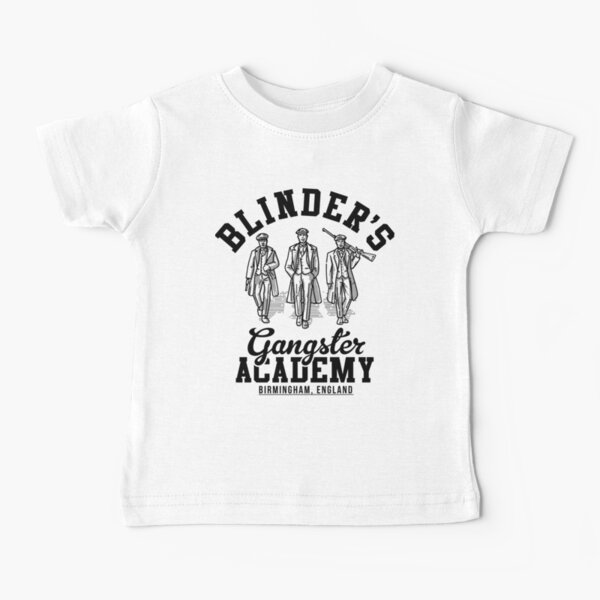 Peaky Blinders Gangster Academy Birmingham Angleterre T-shirt bébé