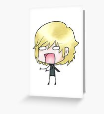 The best kind of Raiden Greeting Card