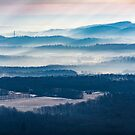 Layers of Misty Blue by EthanQuin