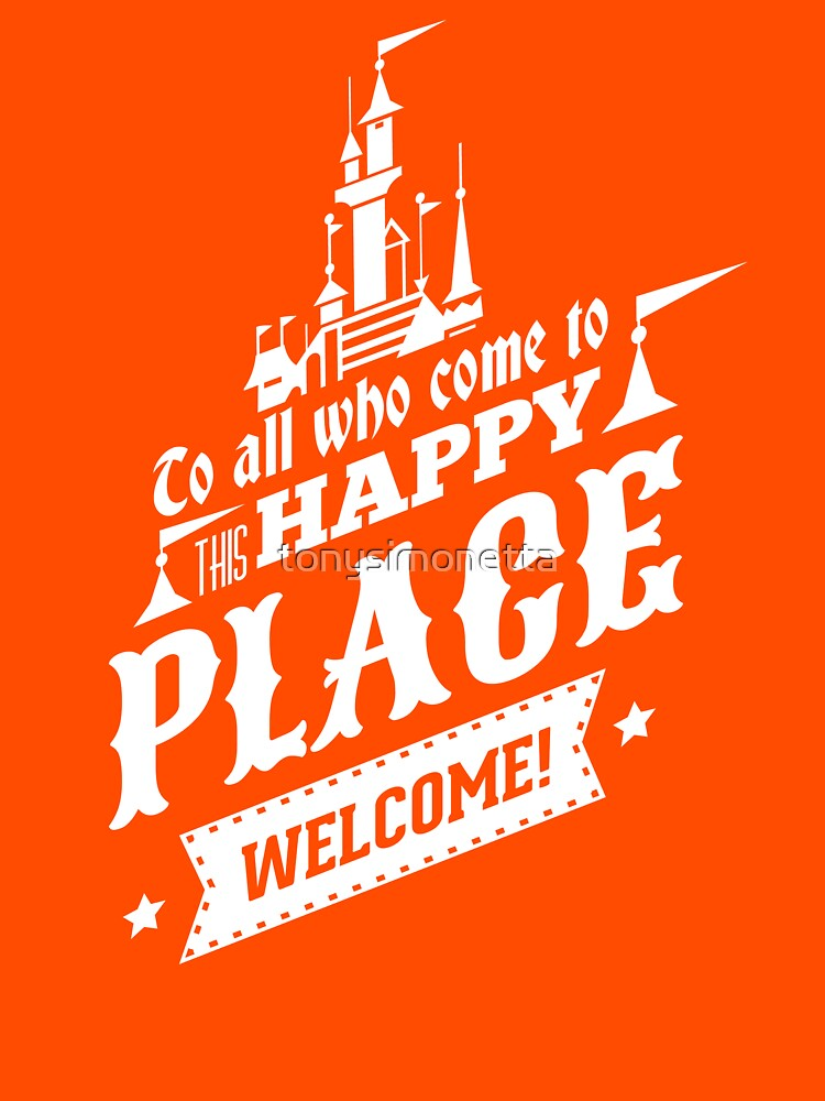 Magic Kingdom - Walt's Happy Place | Unisex T-Shirt