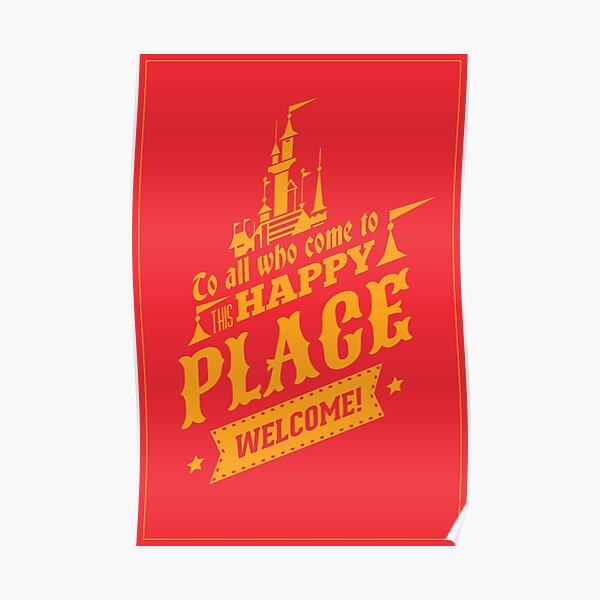 Magic Kingdom - Walt's Happy Place Poster