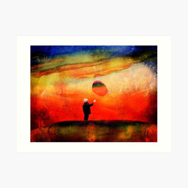 redbubble boy Art Print