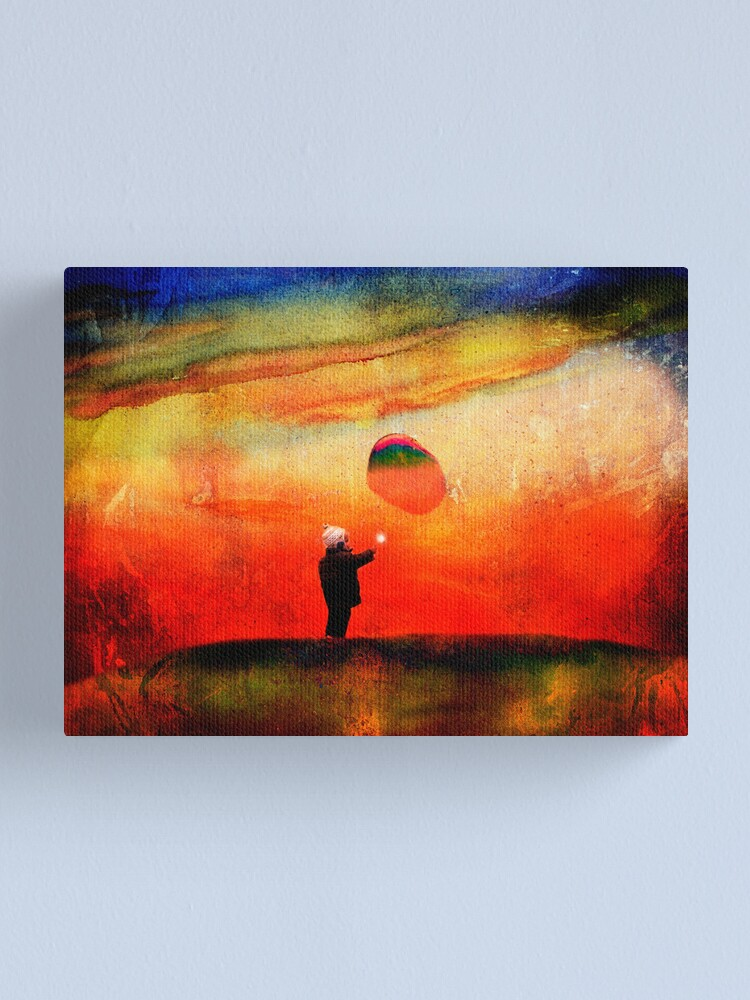 Alternate view of redbubble boy Canvas Print