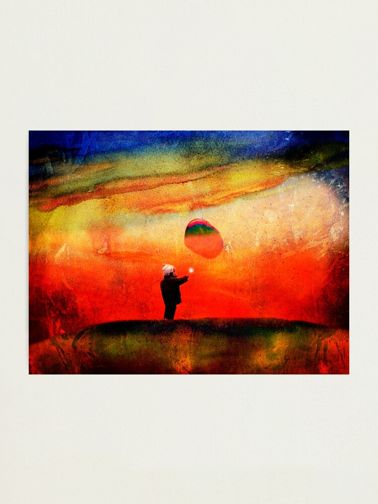 Alternate view of redbubble boy Photographic Print