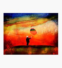 redbubble boy Photographic Print