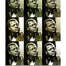 Jazz Heroes Series - Oscar Peterson by MoviePosterBoy