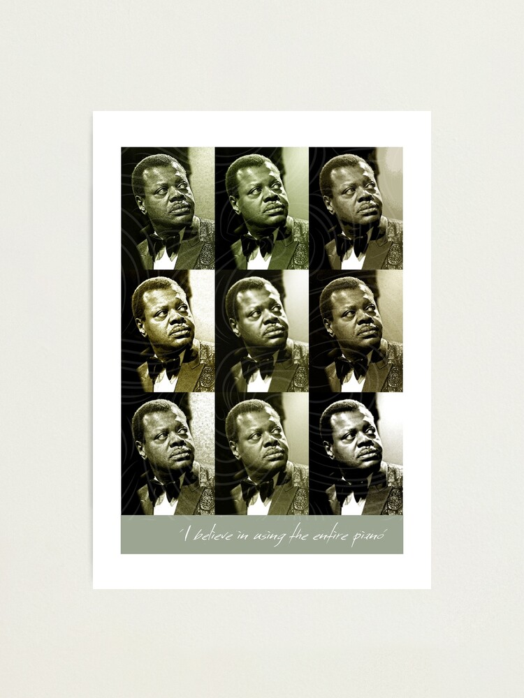 Alternate view of Jazz Heroes Series - Oscar Peterson Photographic Print