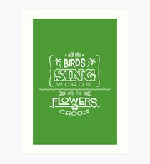 Enchanted Tiki Room - Sing Along Art Print