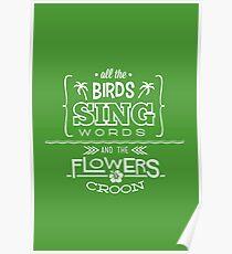 Enchanted Tiki Room - Sing Along Poster