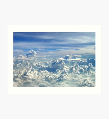 Clouds over Sumatera, Indonesia Art Print