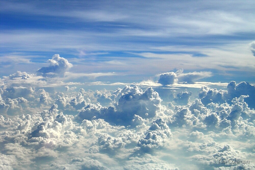 Clouds over Sumatera, Indonesia by Tim Coleman