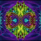 Psychedelic Garden... by Roz Rayner-Rix