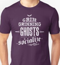 Haunted Mansion - Grim Grinning Ghosts Unisex T-Shirt