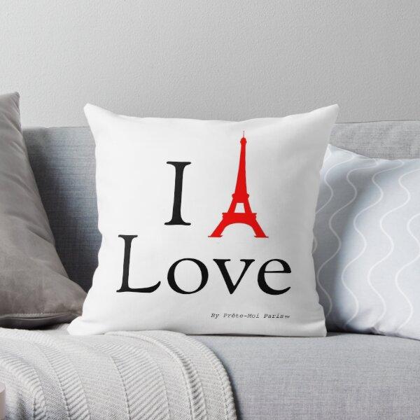 I Eiffel Paris classic Throw Pillow