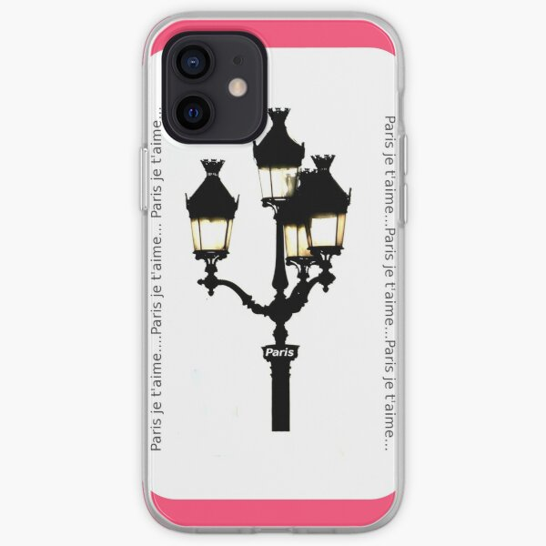 Paris je t'aime - City of Lights Coque souple iPhone