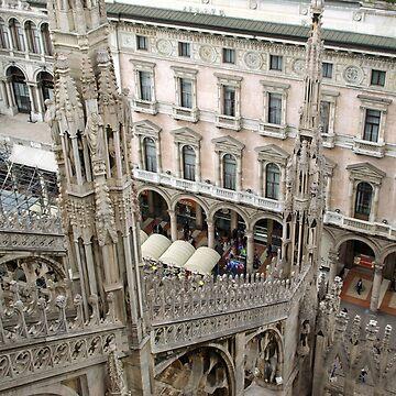 Milan cathedral  von fuxart