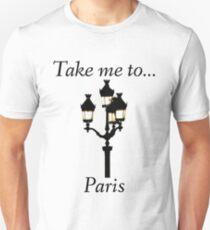 Take me to Paris  T-shirt slim fit