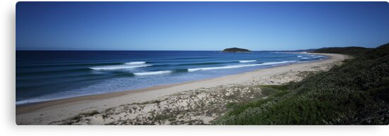 Wario Beach - South Coast, New South Wales by Steve Fox