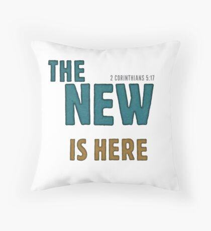 The new is here - 2 Corinthians 5:17 Floor Pillow