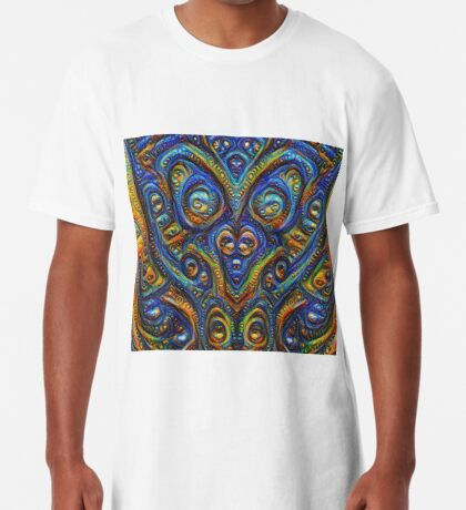 Summer night #DeepDream B Long T-Shirt