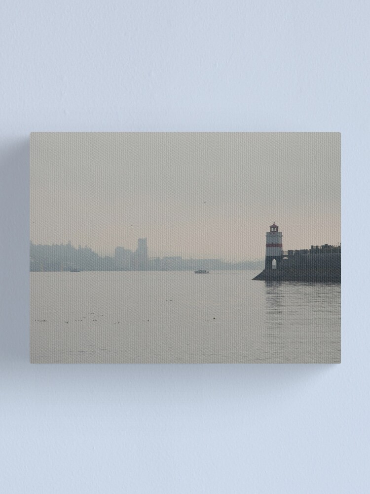 Alternate view of Overlooking Burrard Inlet, Vancouver, Canada, 2007 Canvas Print