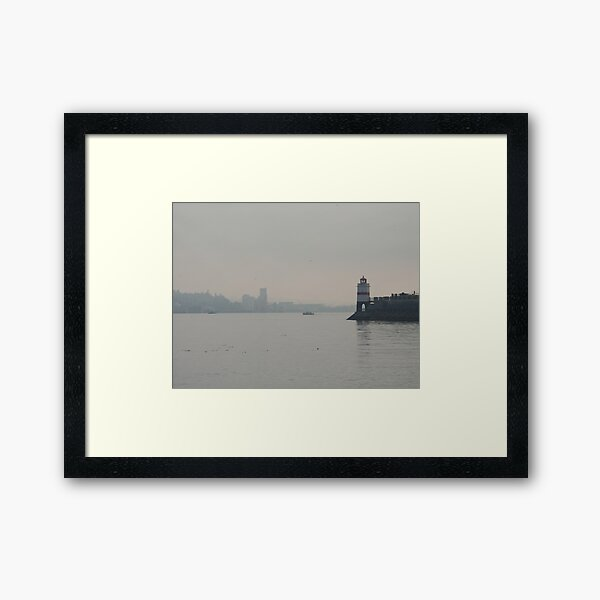 Overlooking Burrard Inlet, Vancouver, Canada, 2007 Framed Art Print
