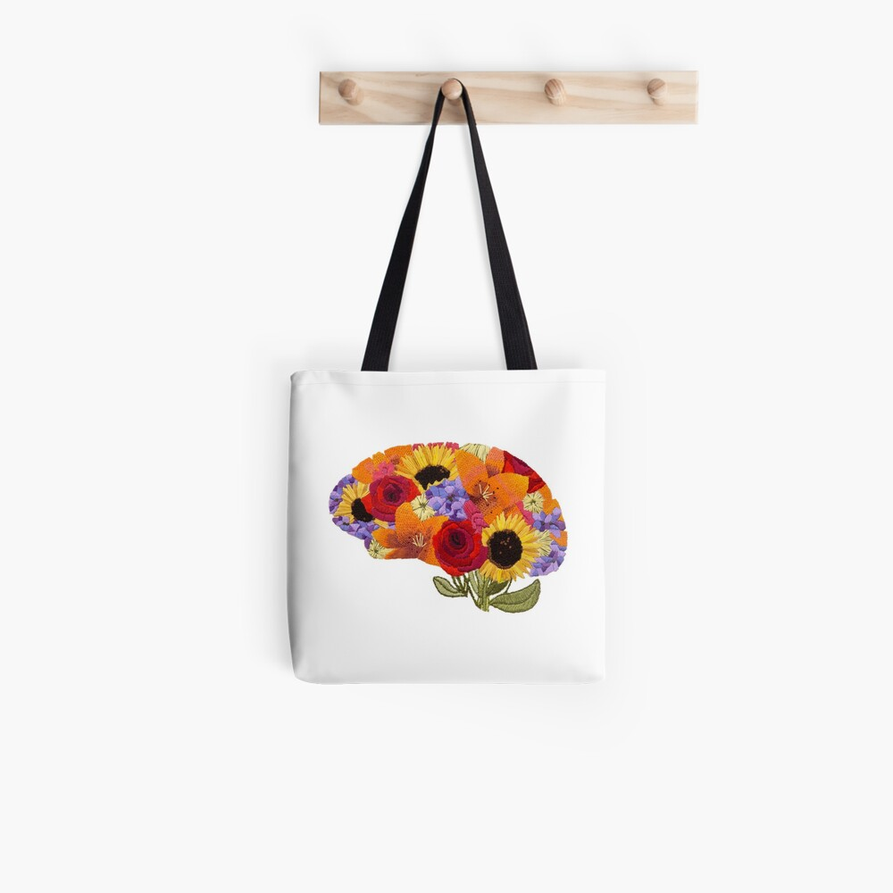 Think Spring Brain  Tote Bag