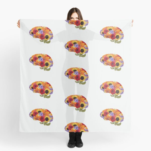 Think Spring Brain  Scarf