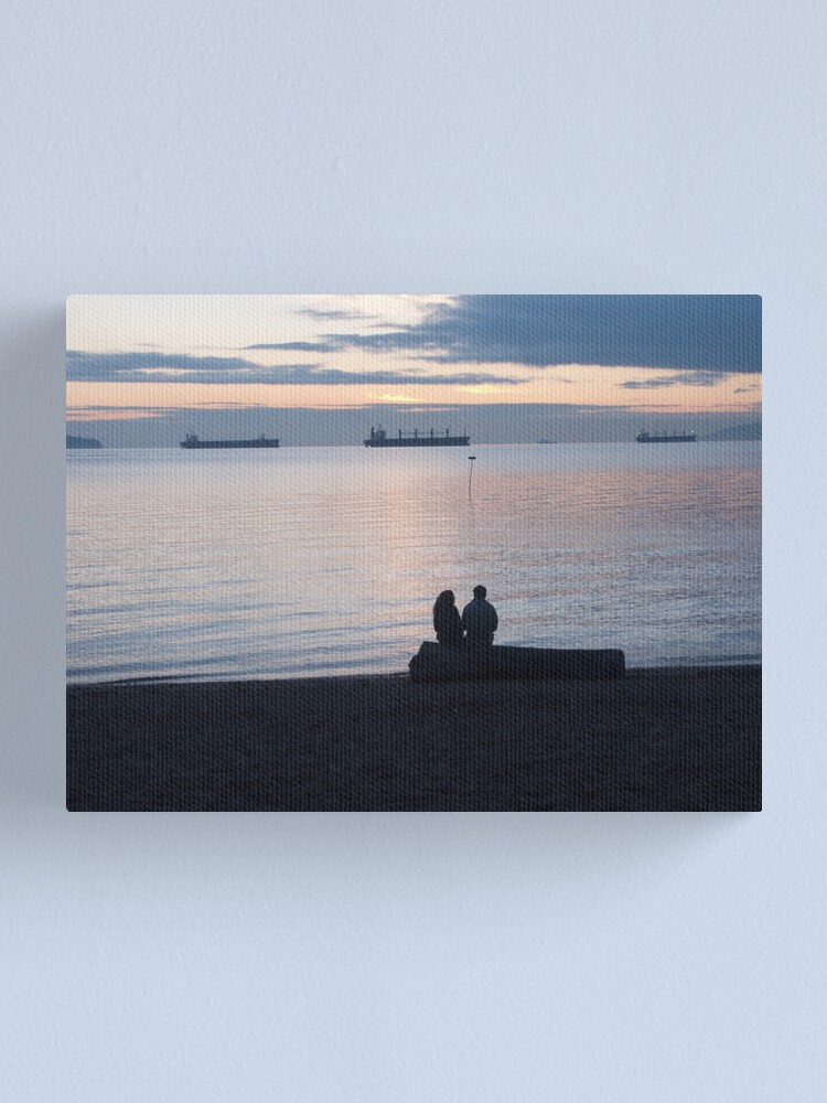 Alternate view of A quiet moment, Vancouver, Canada, 2007 Canvas Print