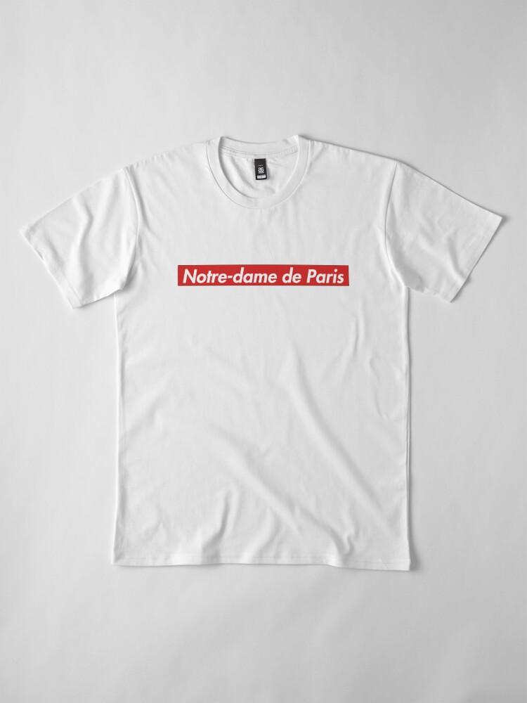 Alternate view of Supreme Notre-dame de Paris Premium T-Shirt