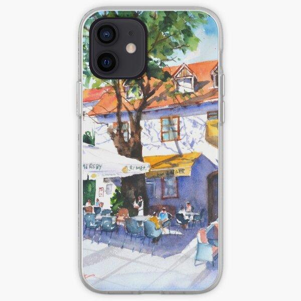 Zagreb cafe #3 iPhone Soft Case