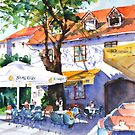 Zagreb cafe #3 by bettymmwong