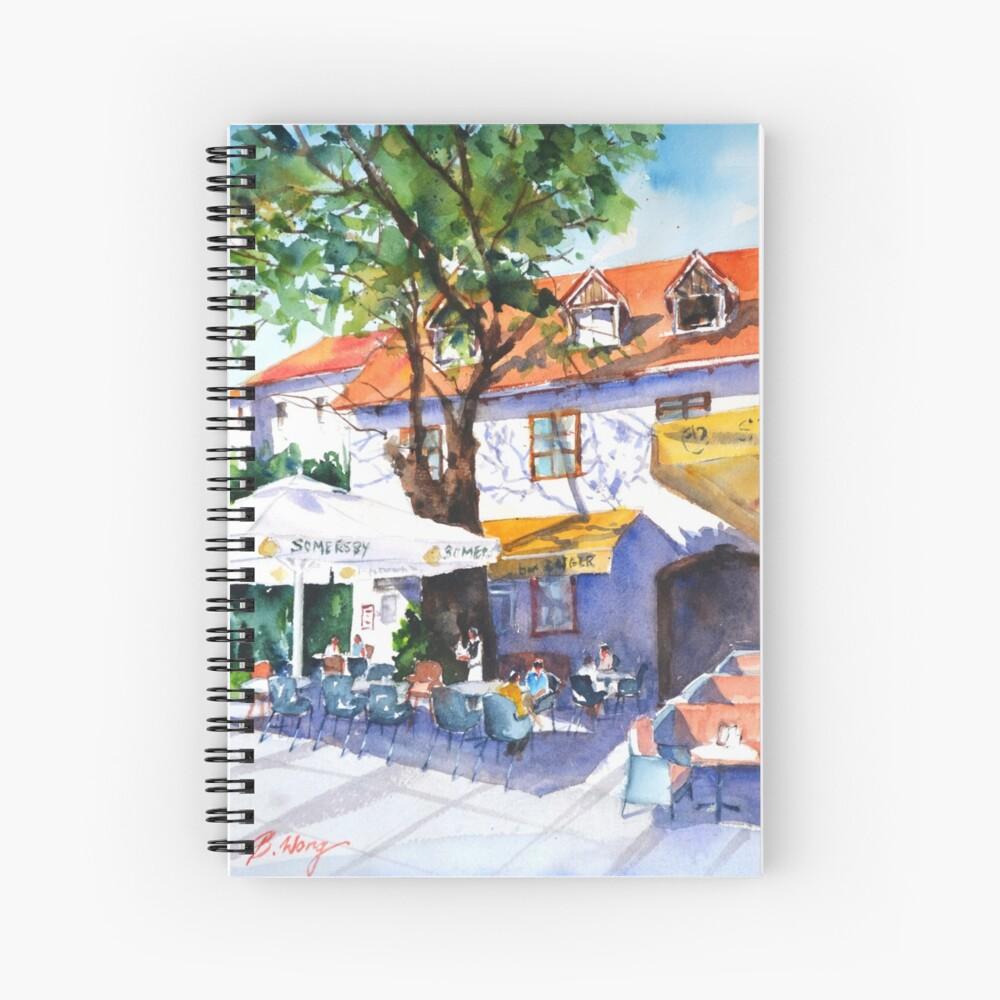 Zagreb cafe #3 Spiral Notebook