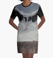 Spread your wings and land  Graphic T-Shirt Dress