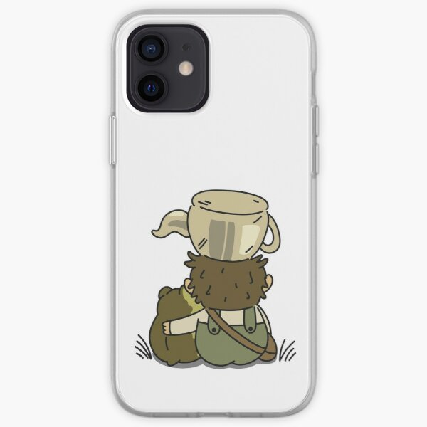 Greg and The Frog - Over the Garden Wall iPhone Soft Case