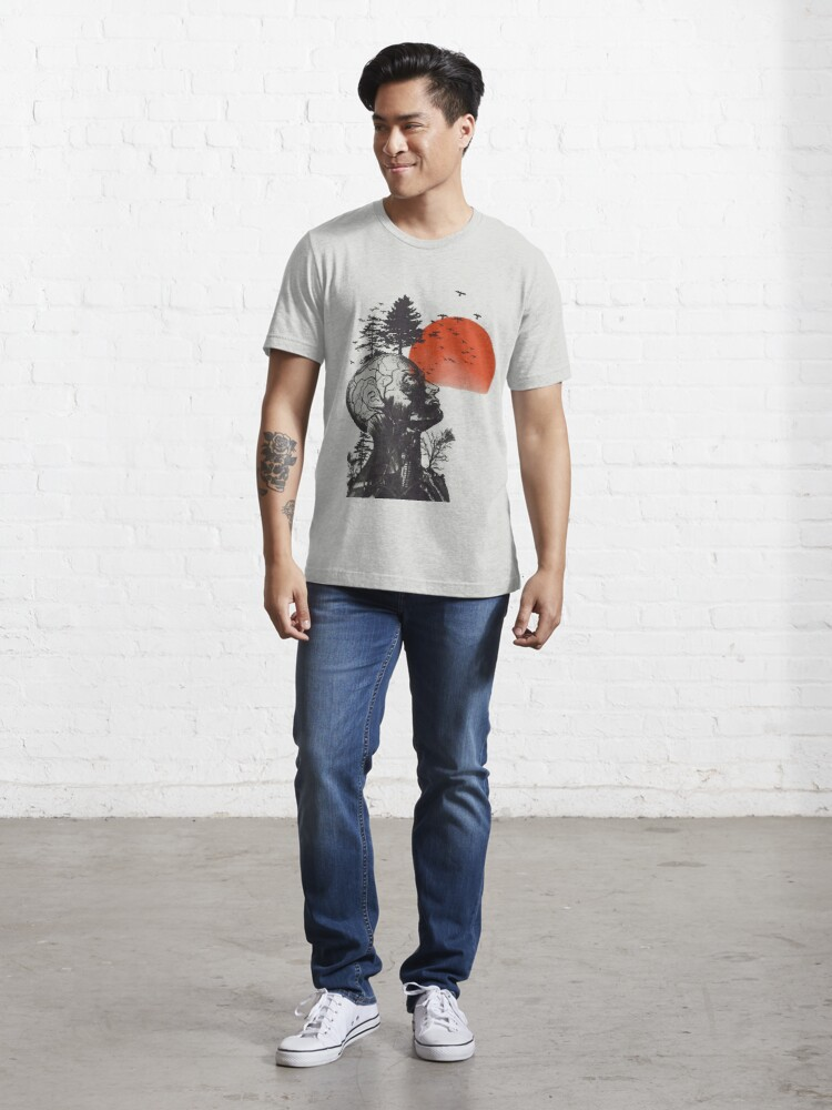 Alternate view of Alan thought Essential T-Shirt