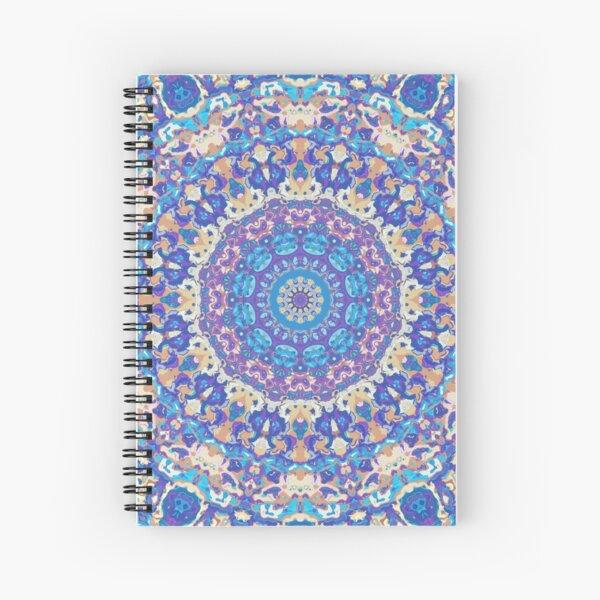 Ornate Mandala Spiral Notebook