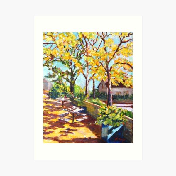 Summer in Edwards Garden, Toronto Art Print