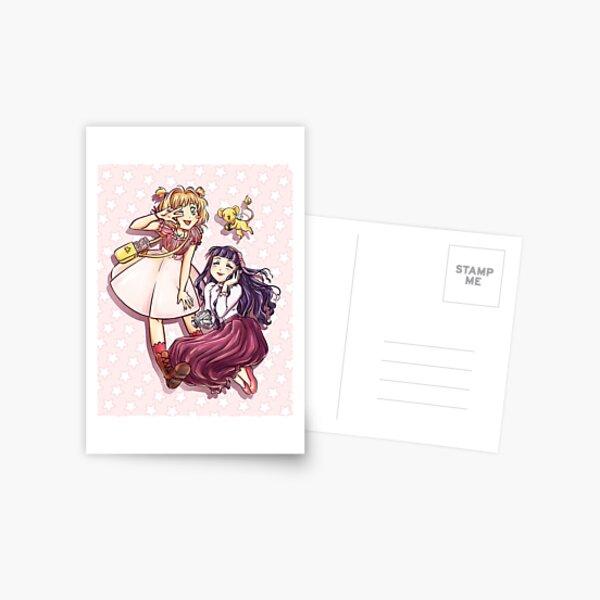 Sakura and Tomoyo Postcard