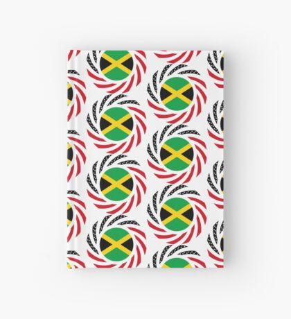 Jamaican American Multinational Patriot Flag Series Hardcover Journal