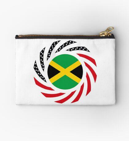 Jamaican American Multinational Patriot Flag Series Zipper Pouch