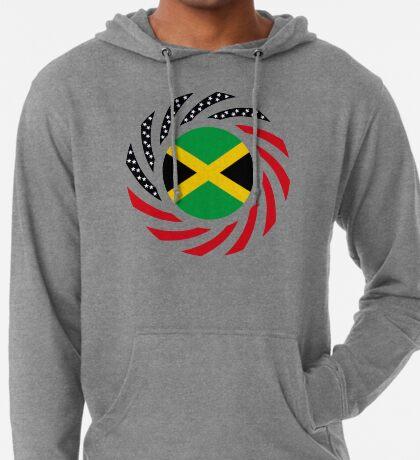 Jamaican American Multinational Patriot Flag Series Lightweight Hoodie