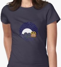 Night Owl - Circle Design T-Shirt