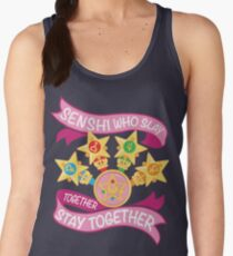 Slay Together, Stay Together - Sailor Scouts Clean Women's Tank Top