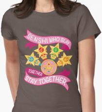 Slay Together, Stay Together - Sailor Scouts Clean Women's Fitted T-Shirt