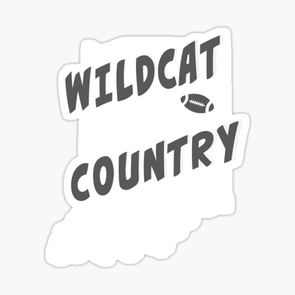 Wildcats country  Sticker