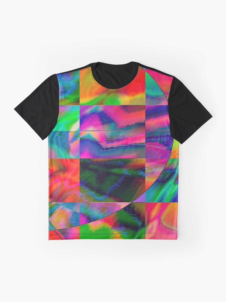 Alternative Ansicht von fuxart fractal three Grafik T-Shirt